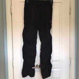 Black flare lululemon pants